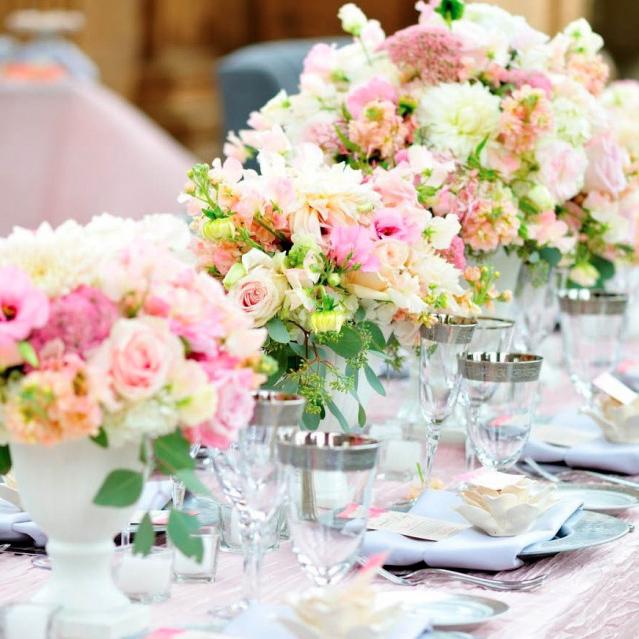 Флористическое оформление свадьбы