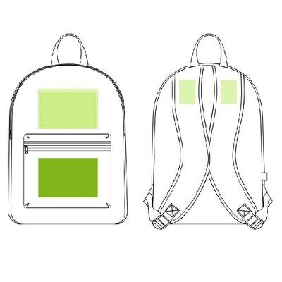 Изготовление рюкзака с нанесением
